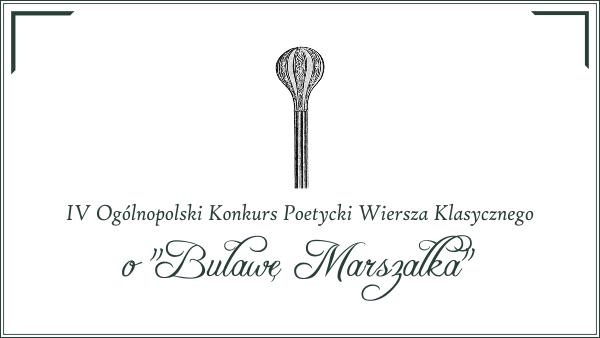 27032019 Iv Ogólnopolski Konkurs Poetycki Wiersza